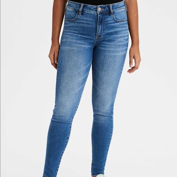 3/$18 AE Super Stretch Skinny Jeans
